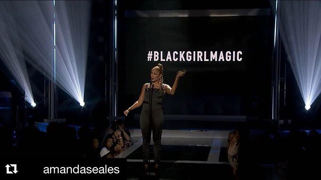 Ain't nothing like #blackgirlmagic @amandaseales thanks for the reminder muse! 👏🏾👑 . . . #culturalmuse #blackgirlmagic #aspiretoinspire #amandaseales