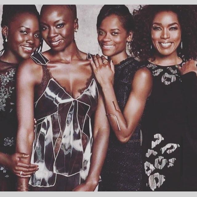 Strong Black women are what make Wakanda great! 💜💛 . . . #culturalmuse #aspiretoinspire #blackpanther #wakandaforever #blackgirlmagic #strongblsckwomen