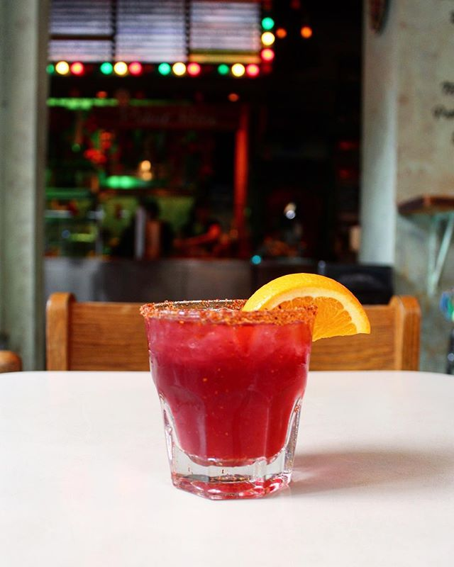 It's #humpday.  Celebrate with our new Hibiscus Mezcal Margarita.
