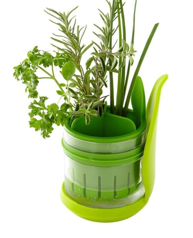 Spring is here and our handy Herb Saver will save fresh cut herbs for up to 3 weeks in the refrigerator -- and will save you time in the garden and money at the grocery store!⠀ .⠀ .⠀ .⠀ .⠀ .⠀ #culinaryarts #culinary #food #foodie #chef #spring #herbs #inthekitchen #homechef #cookinglife #foodphotography #culinaryschool #cheflife #foodies #foodblogger #culinarytalents #cooking #foodart #lifestyle #cuisine #kitchengadgets #productdesign #kitchentools #kitchenstuff ⠀