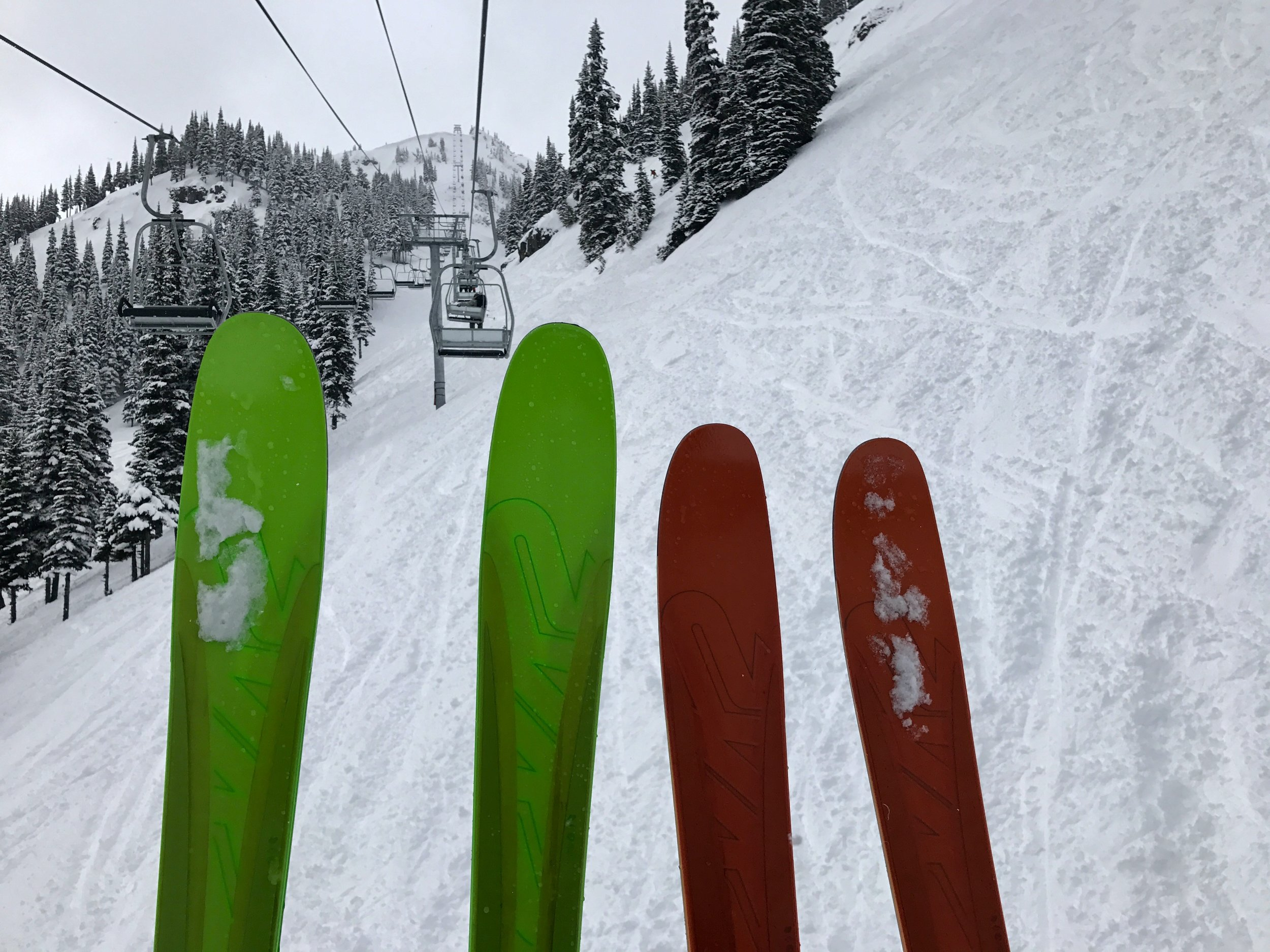 The Greenest skis you've seen?