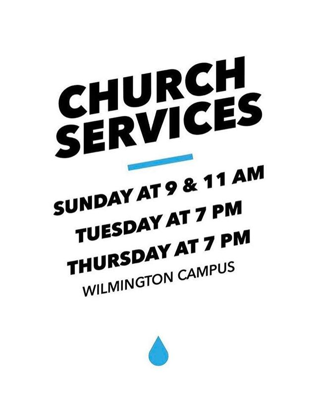 Services tomorrow!