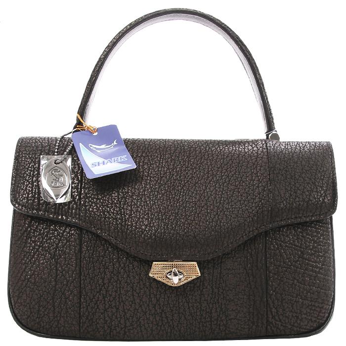 shark skin handbag