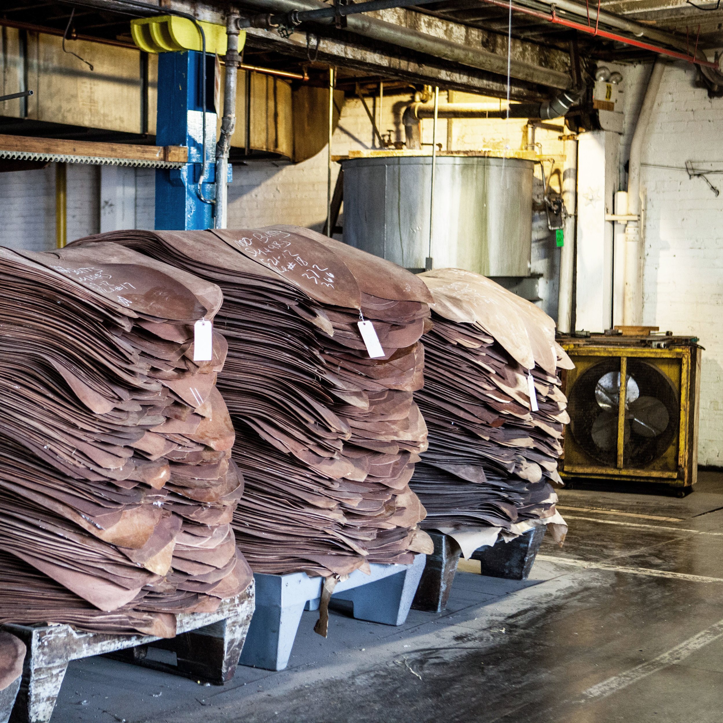 The Horween tannery in Chicago