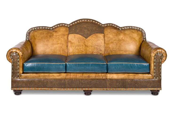 Hancock & Moore leather couch