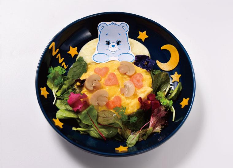 ベッドタイムベア™️のおやすみオムライス | Bedtime Bear ™ Goodnight omelet rice
