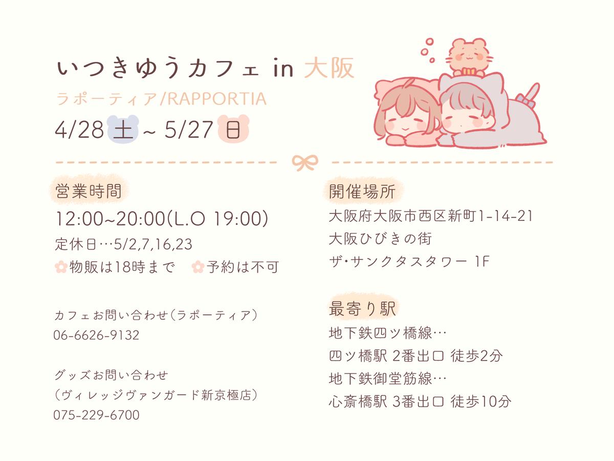 Osaka Location Information