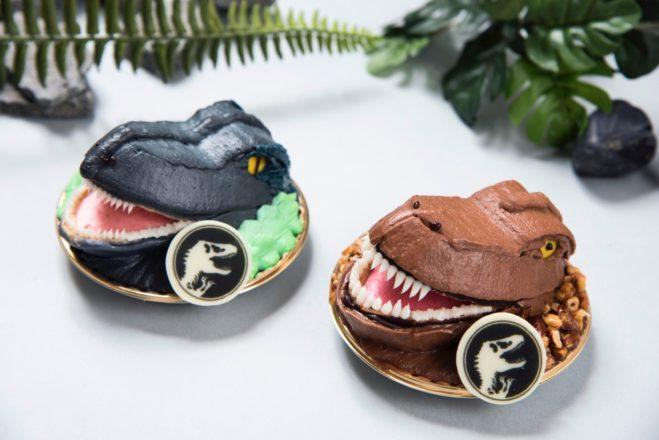 THE ダイナソーケーキ (T-rex&Blue)