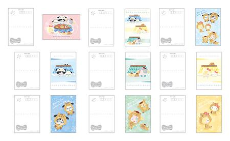 ポストカードセット 価格:700円(税抜)