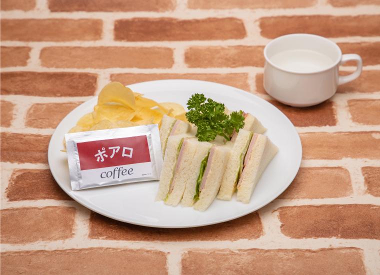 3. 安室透特製!喫茶ポアロのハムサンド
