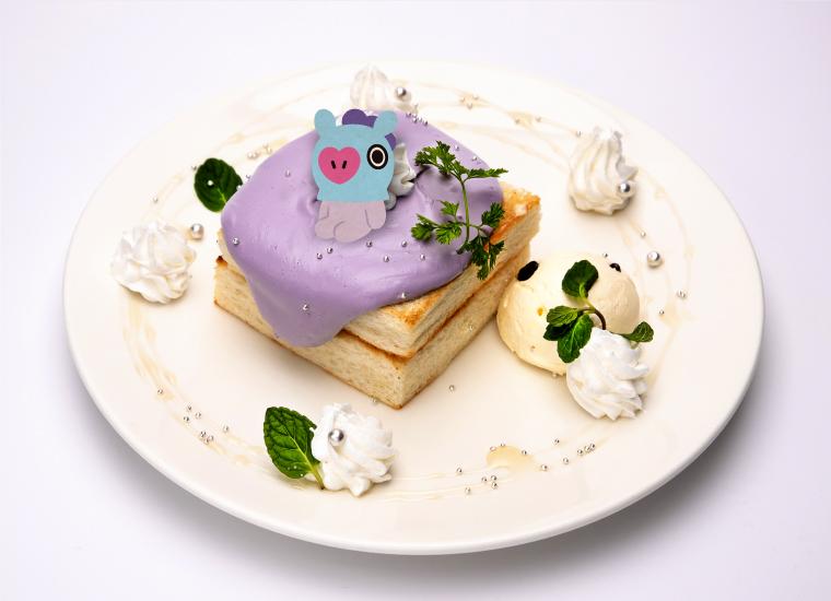 7. MANGのハニーバタートースト