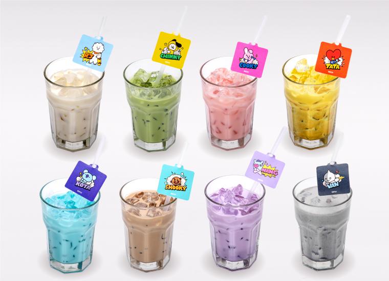 9. 【ICE】BT21ドリンク(全8種)