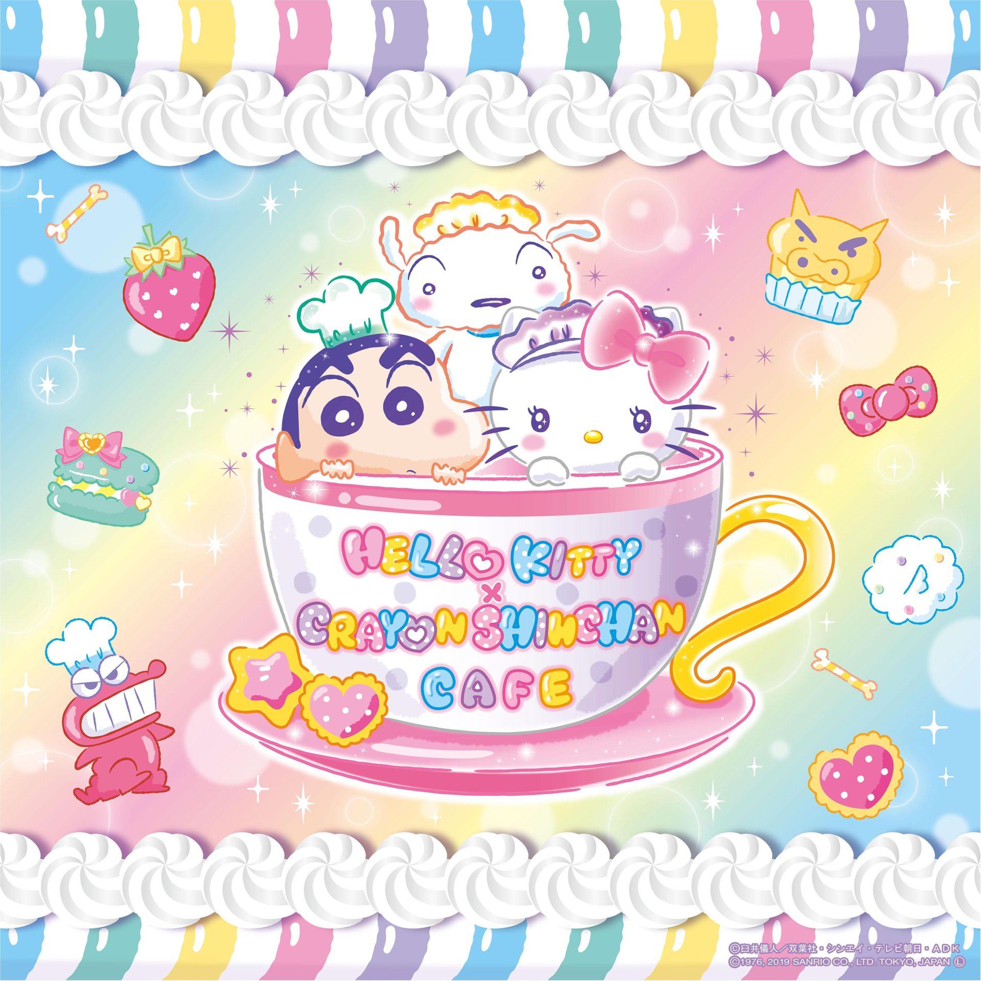 f6faba149 Hello Kitty x Crayon Shin-chan Café [April 4 - May 20, 2019] — Dango ...