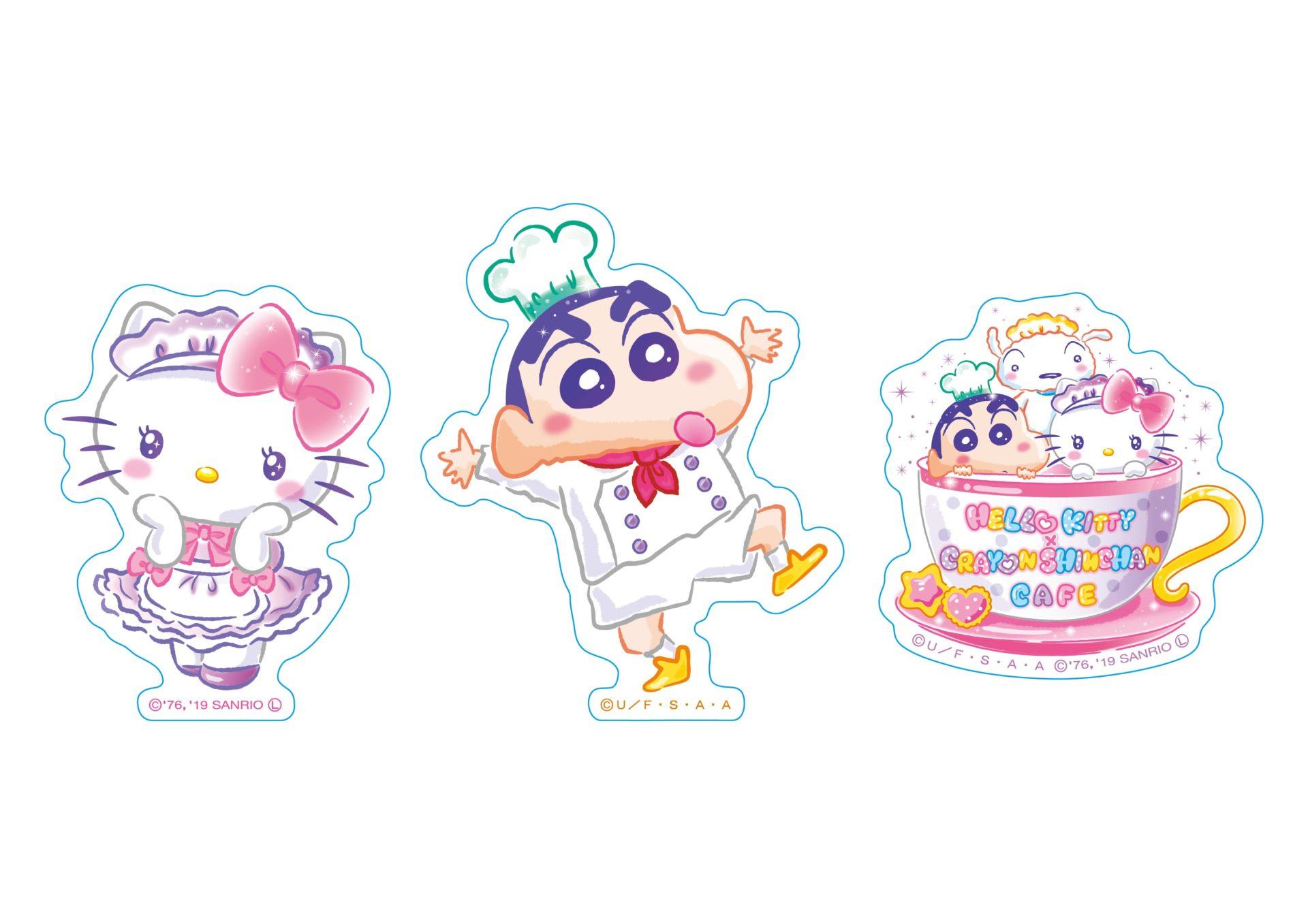 ダイカットステッカー | Sticker 全3種  各¥350