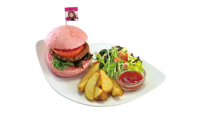 5. ケムリクサ特製ハンバーガープレート