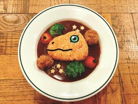 アグモンのミートシチュー | Agumon Meat Stew  1,450円  Available for part 1 & 2 (7/13 - 7/31)