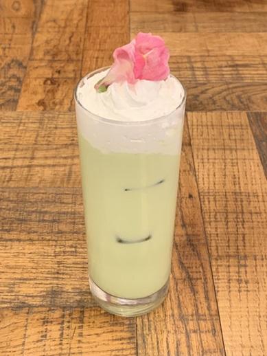 ミミとパルモンの抹茶ミルク 700円