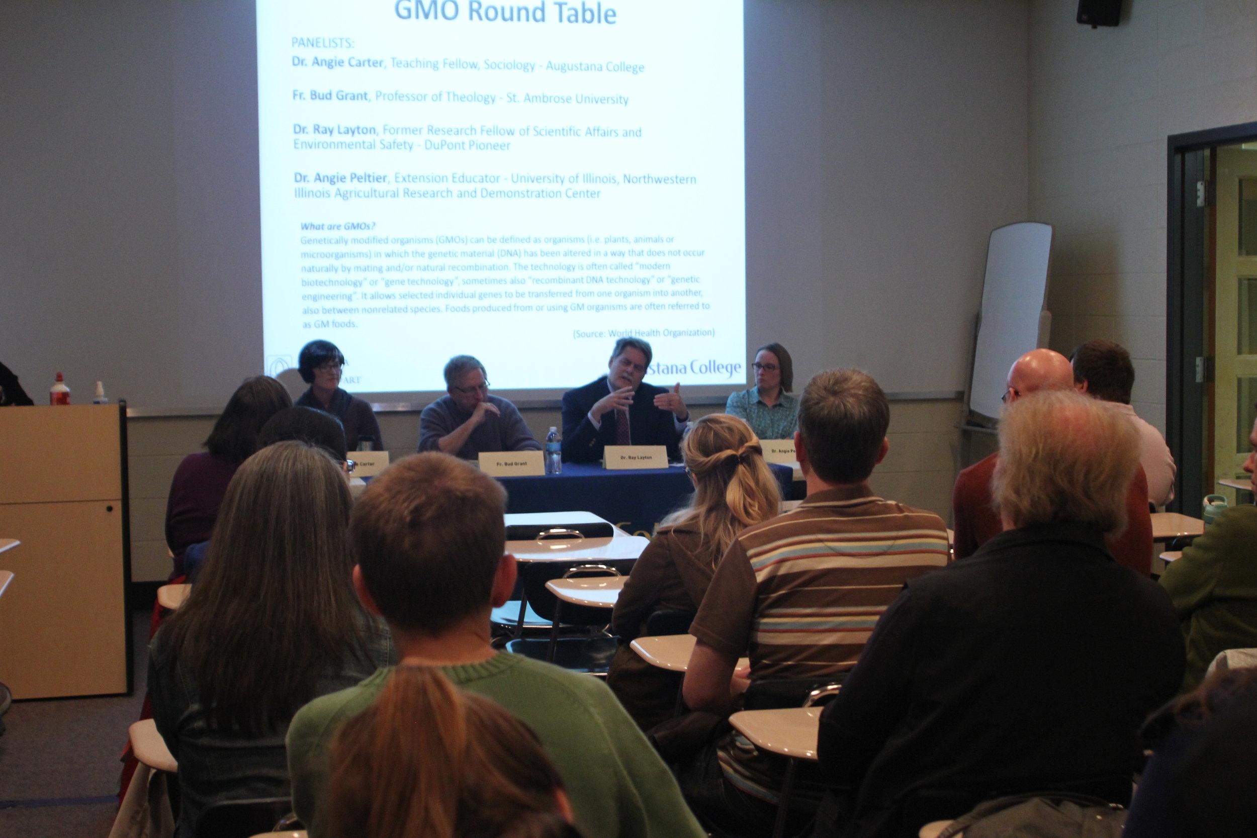 GMO Roundtable Panel