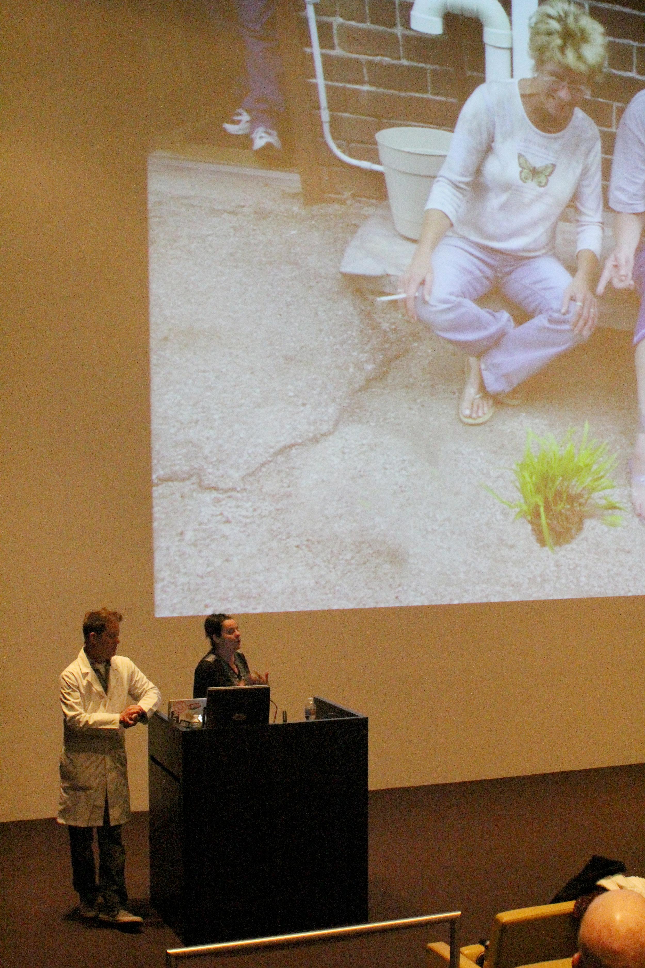 Schmuki and DesChene's artist lecture