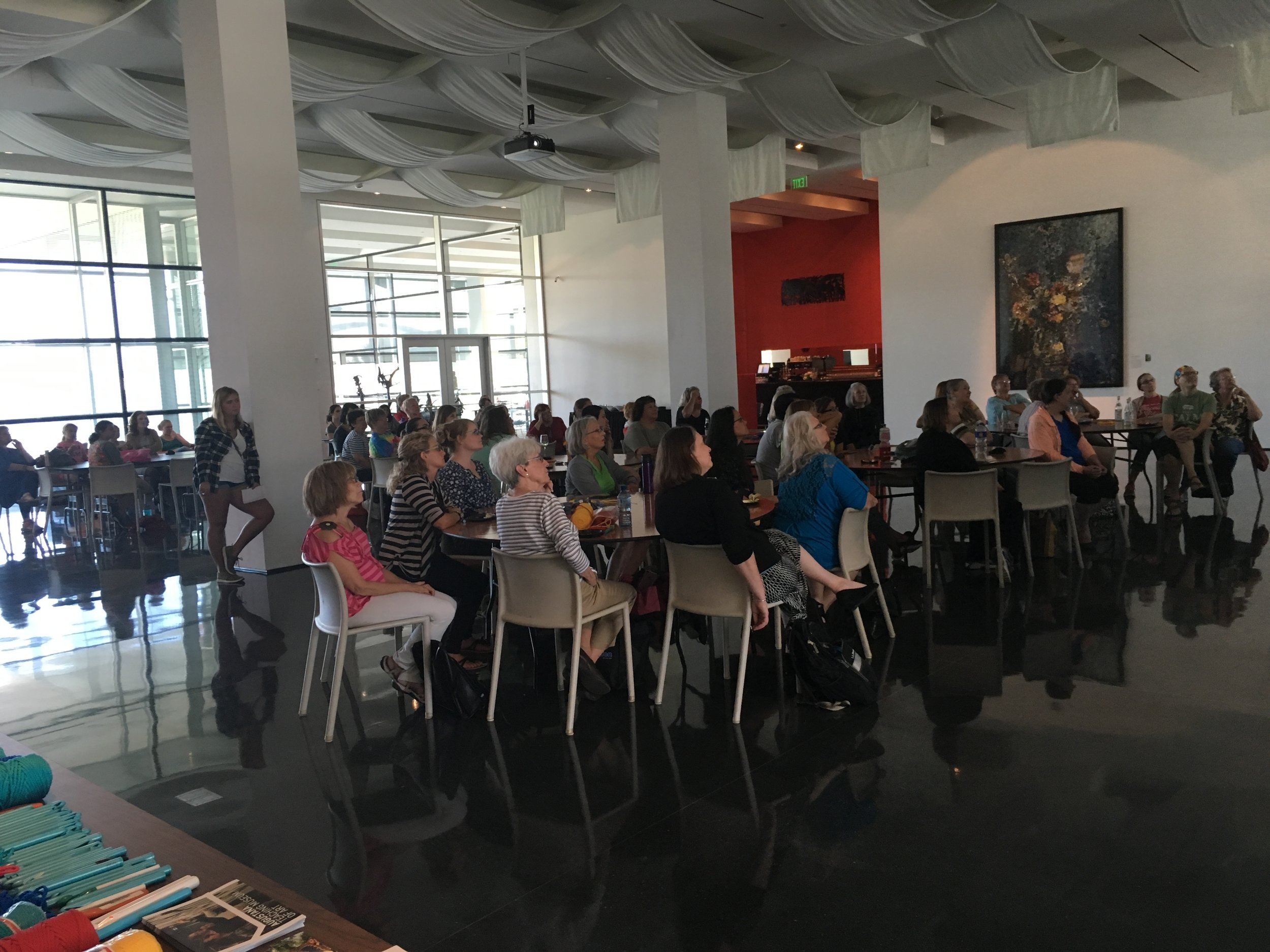 Workshop at the Figge Art Museum