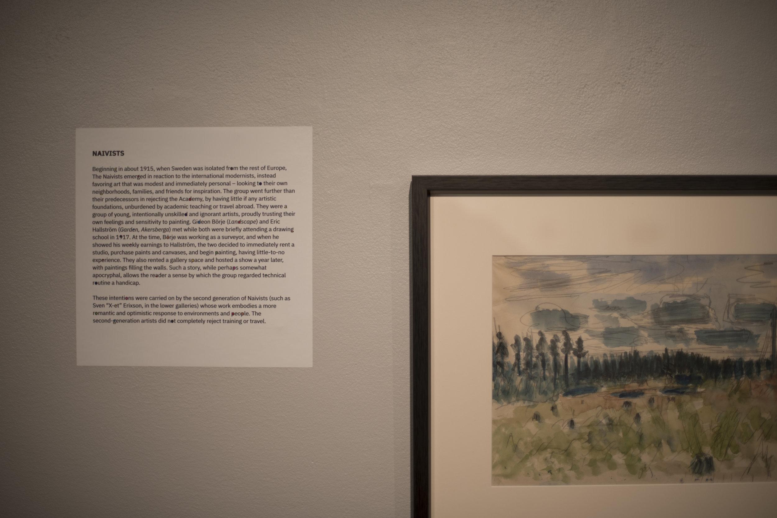 Marcos Valella,  Interlay  (installation photo), 2019. Augustana Teaching Museum of Art.