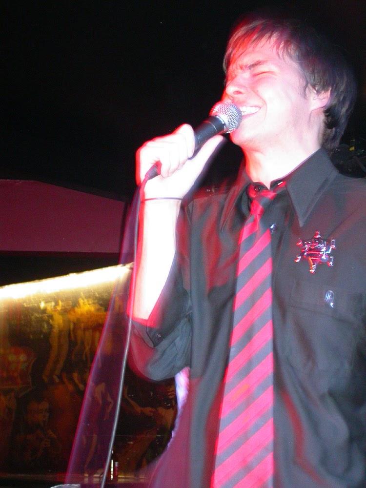 Sean Ward singing with feeling