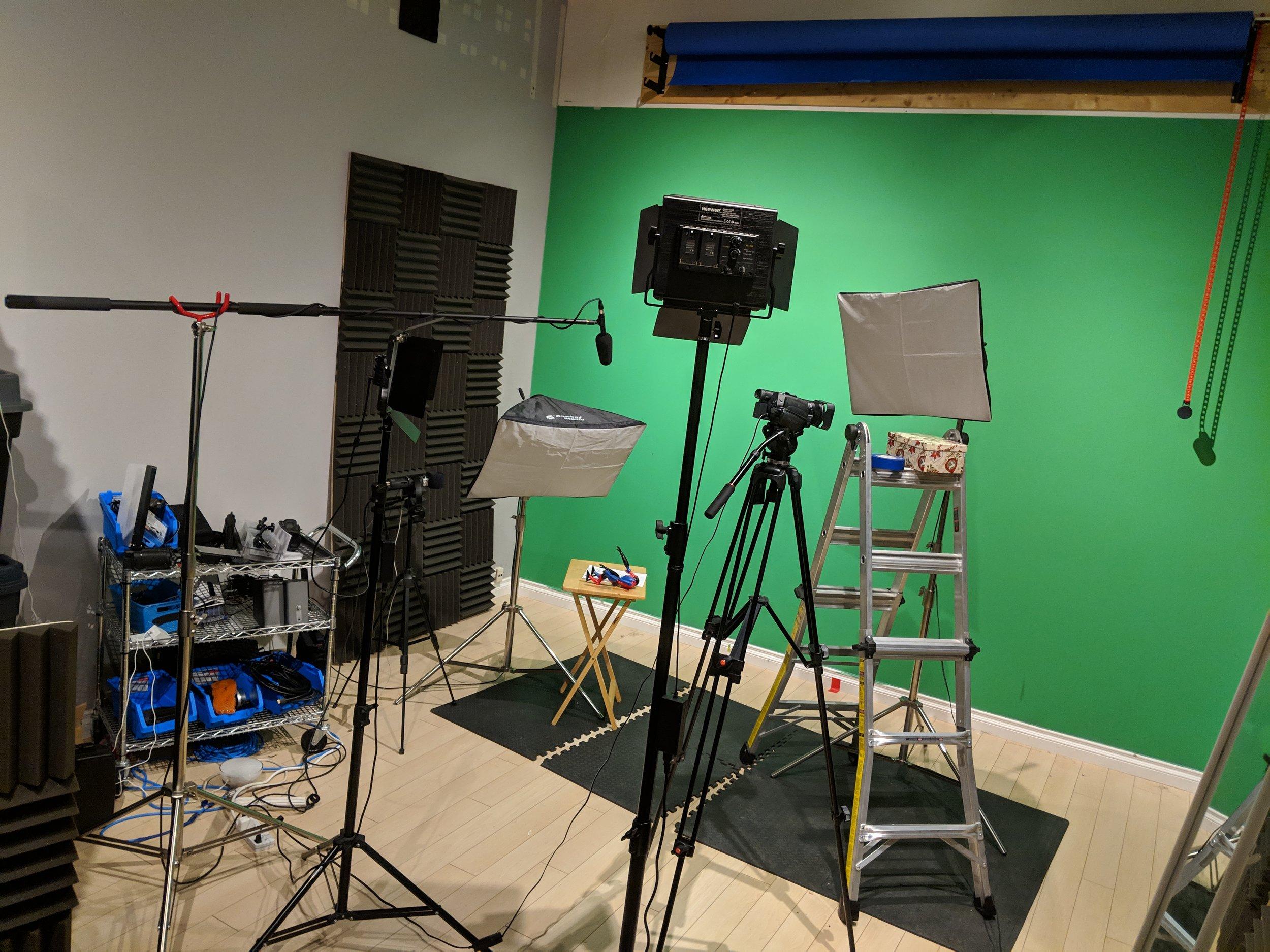 The Sean Ward Show Studio