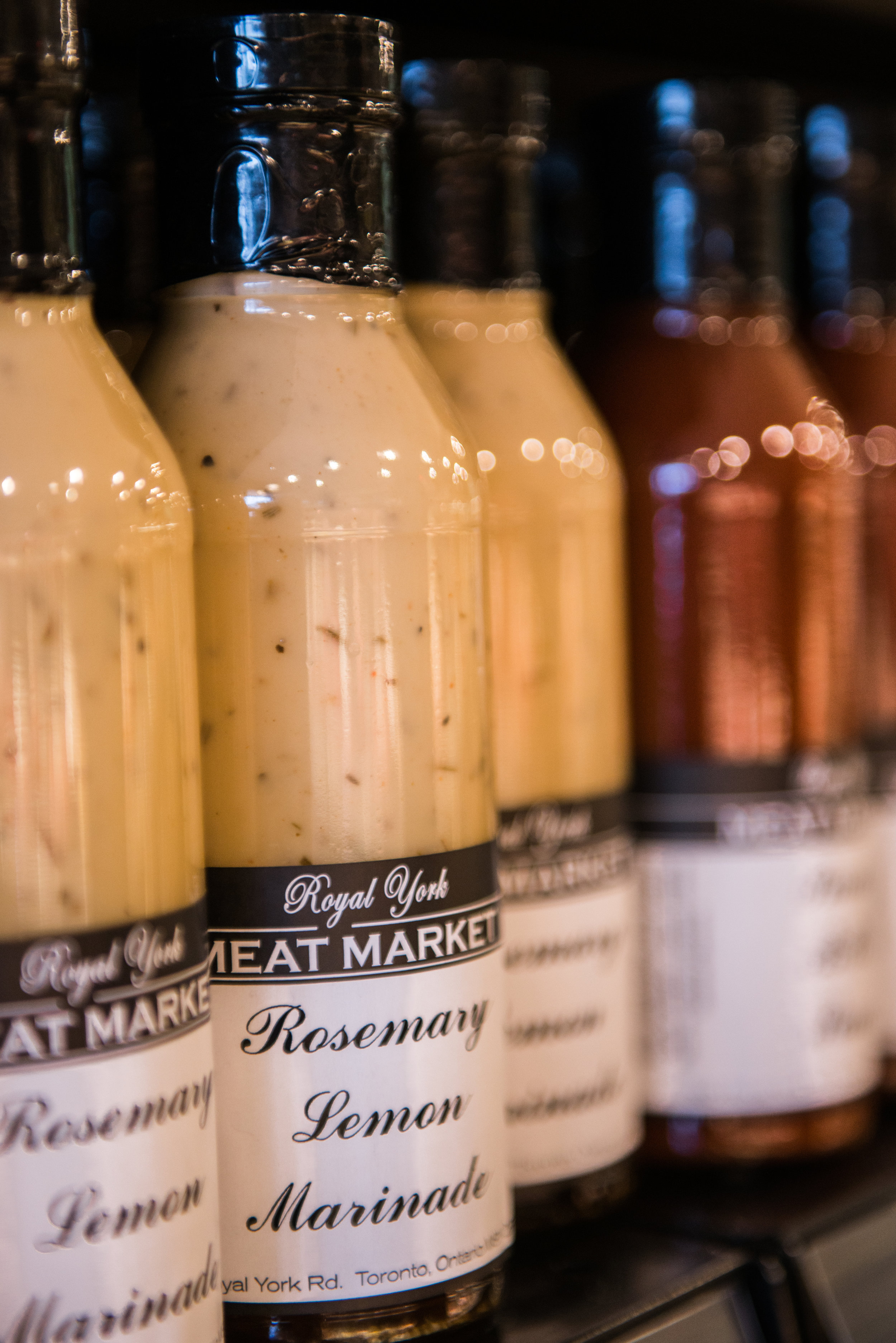 We have many name brand sauces to choose from but nothing tastes quite like something made from the heart. Why not try one of our large selection of hand made house sauces, rubs or oils. If you're on a time crunch, we'll even marinade it for you.