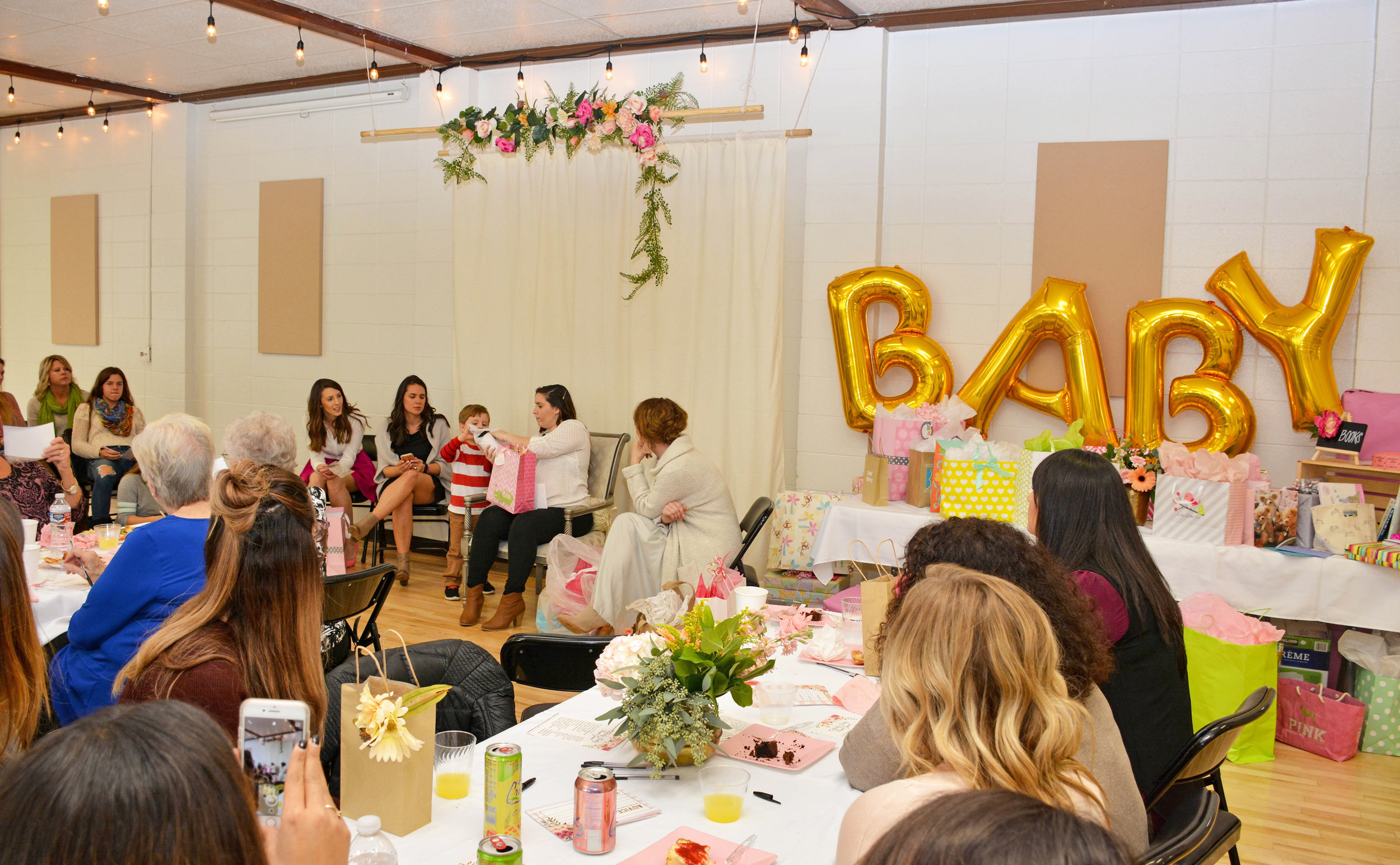 A great place for baby and bridal showers