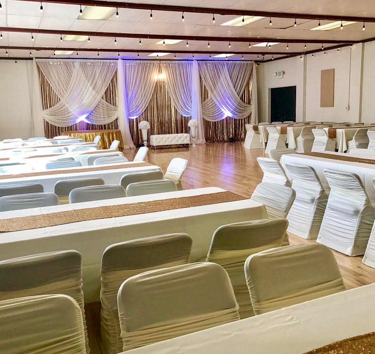 Wedding decor by Midnight Gala Events  (see vendor list)