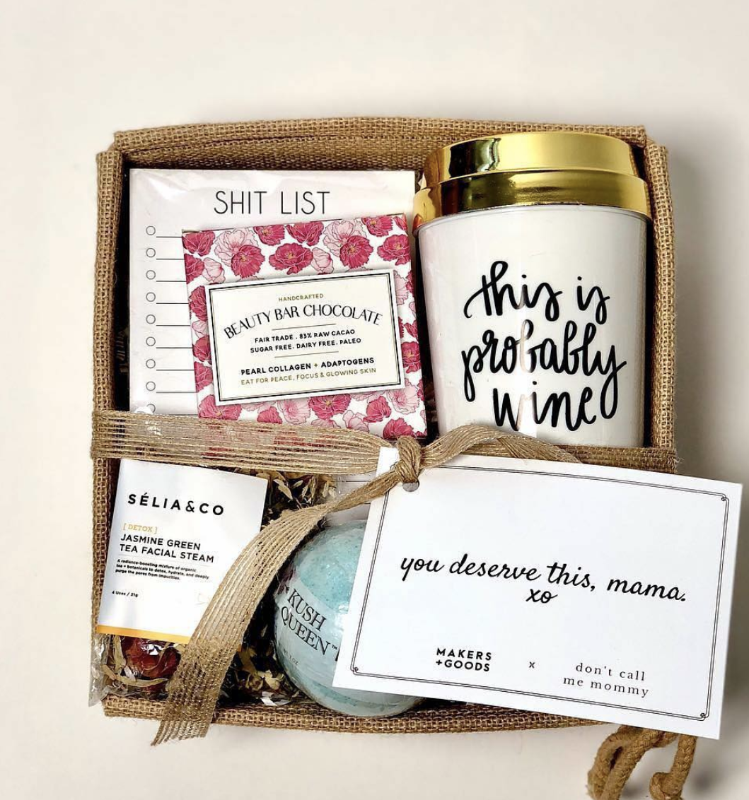 Makers and Good x Don't Call Me Mommy Gift Set