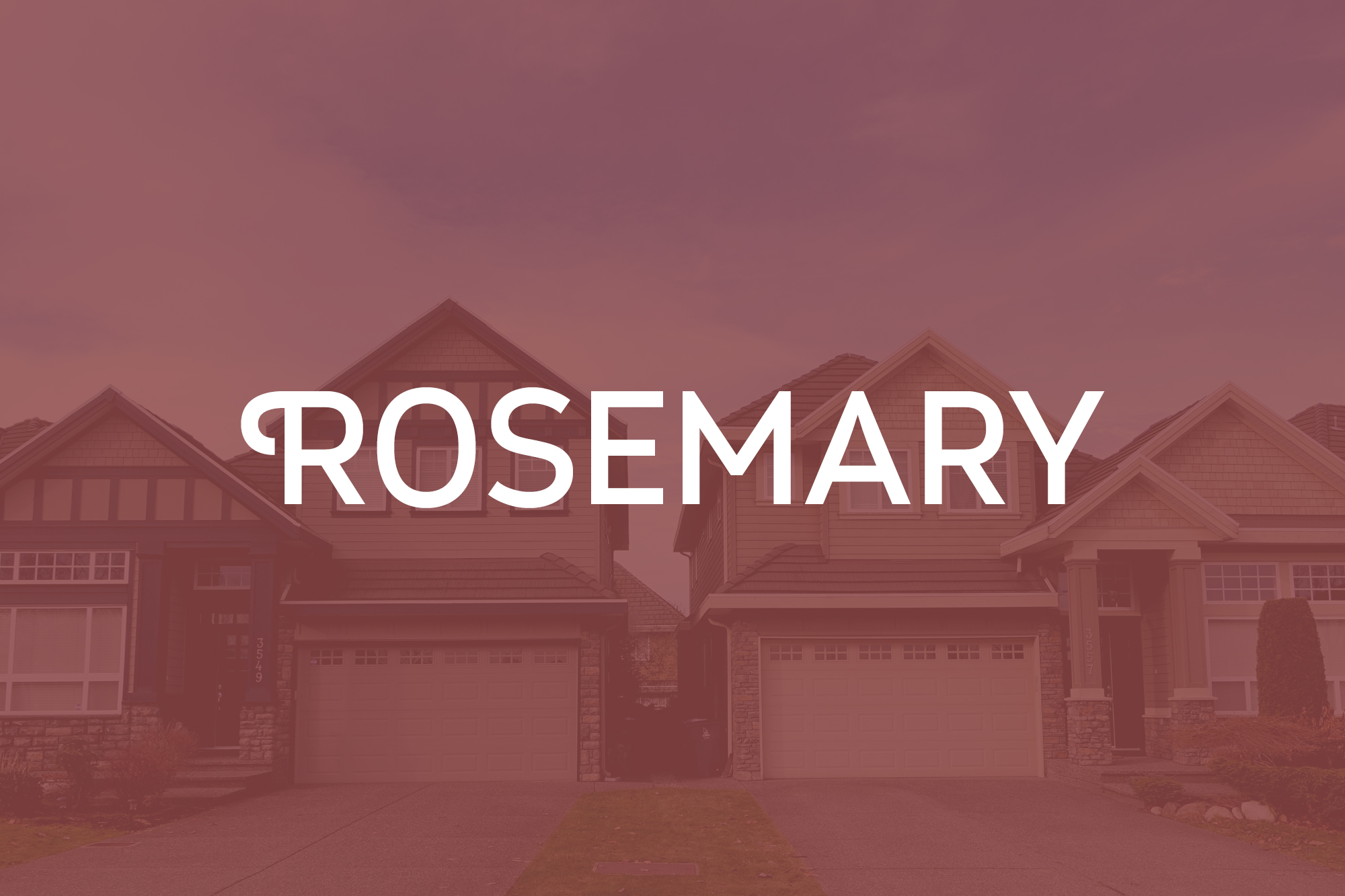 Grand single family homes built in the evolving Rosemary Heights neighbourhood of South Surrey