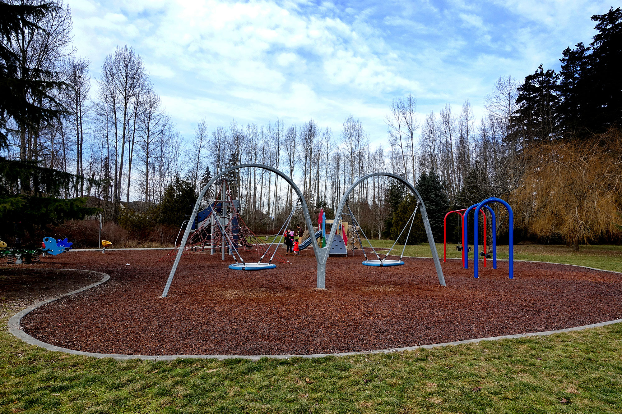 Open space and a great children's play area