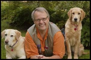Skip & his dogs leo & daisy