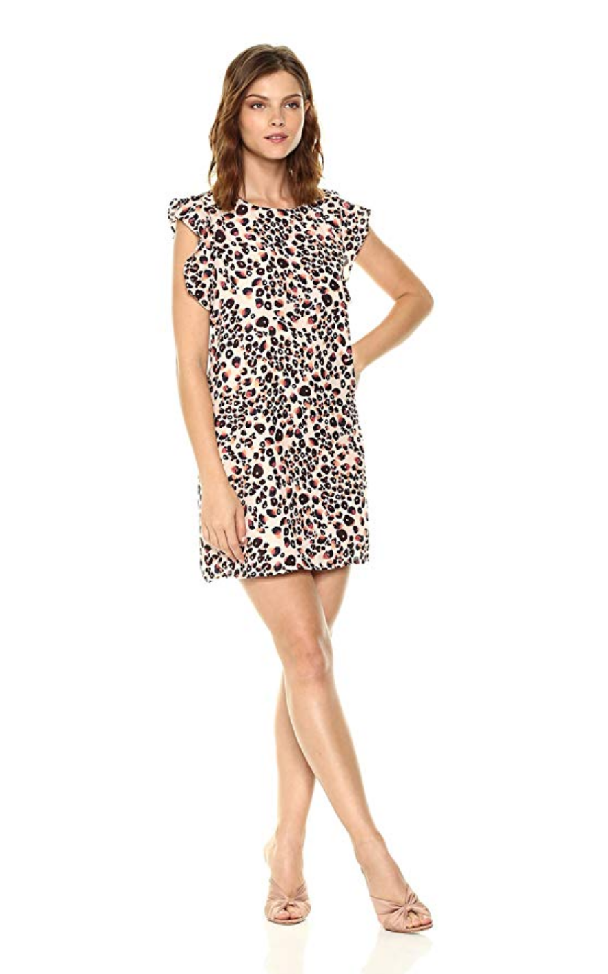 cupcakes and cashmere leopard print dress - shop here