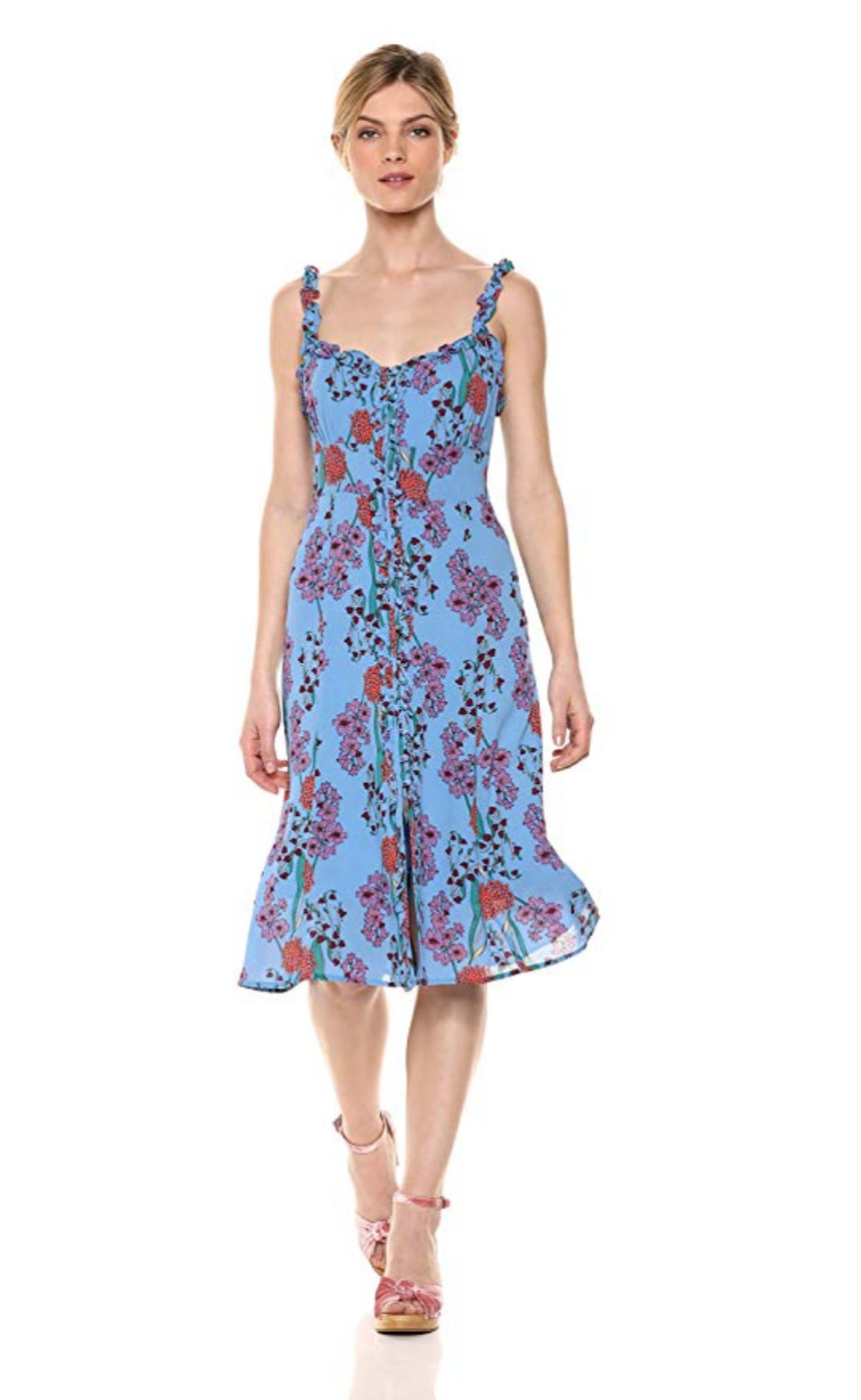 astr blue dress - shop here