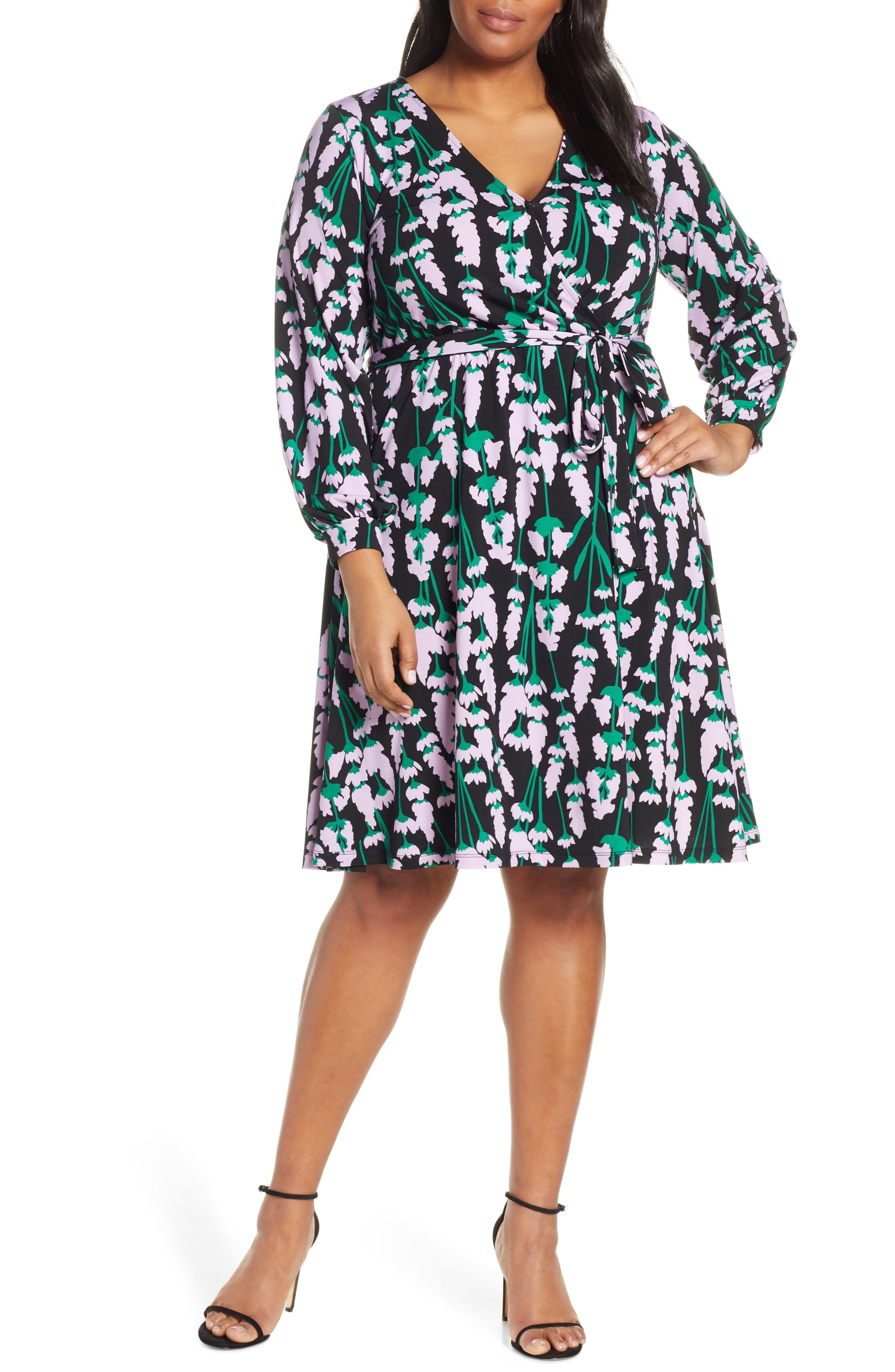eloquii wrap dress - shop here