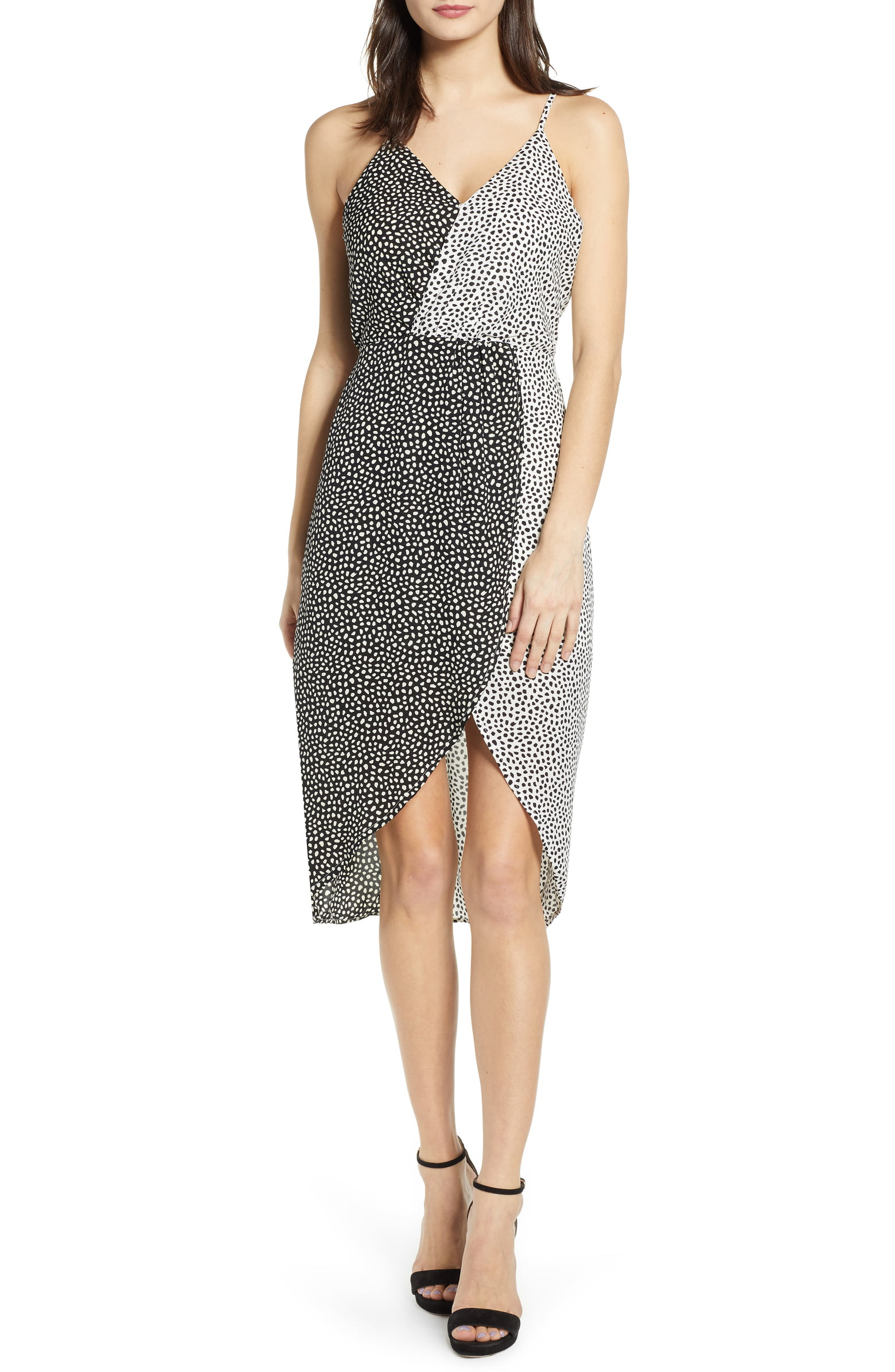 joa contrast dress - shop here