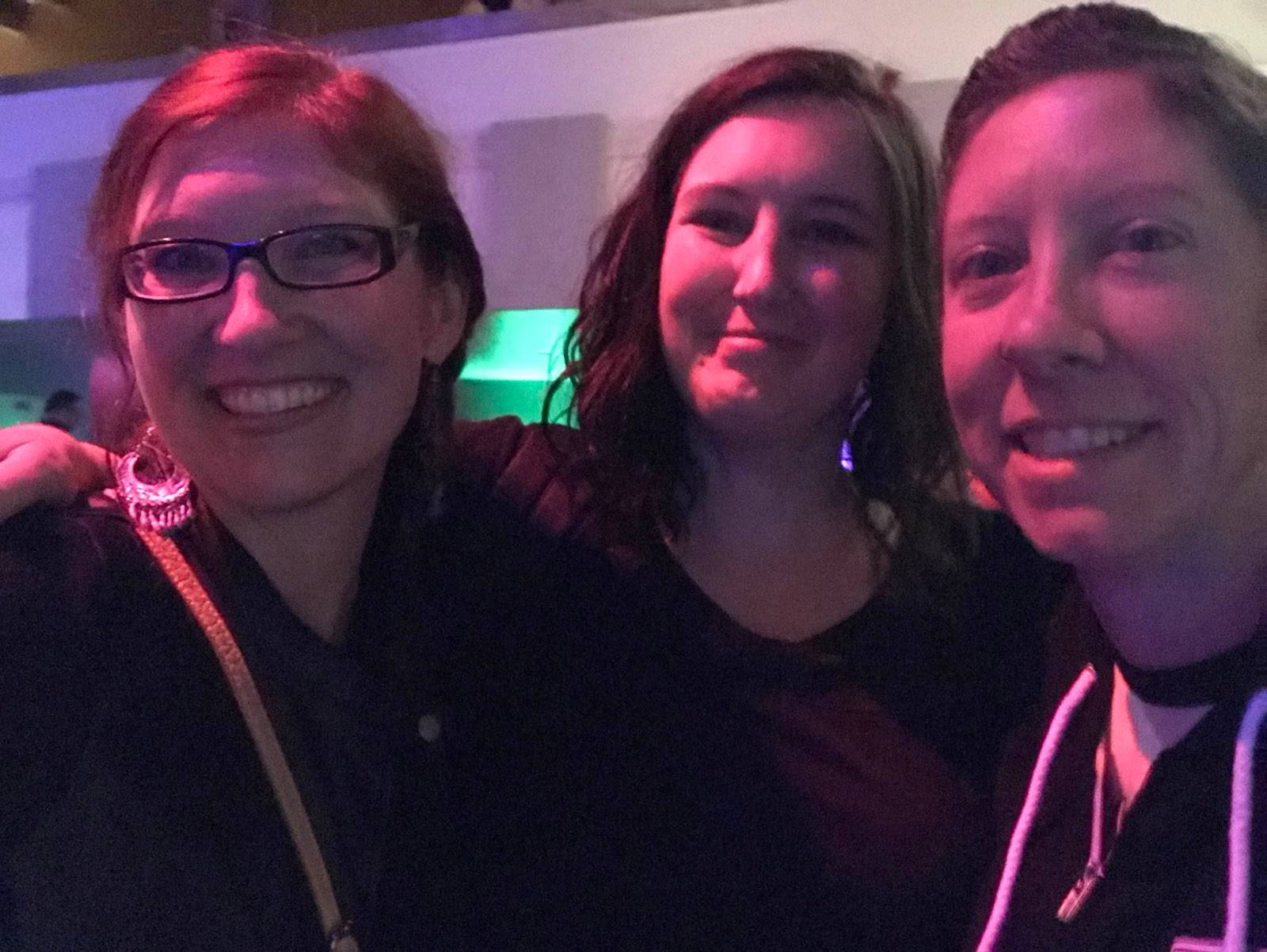From left to right: Kelly Comer, Kim Moody, and Krissy Comer-Sullivan 2017