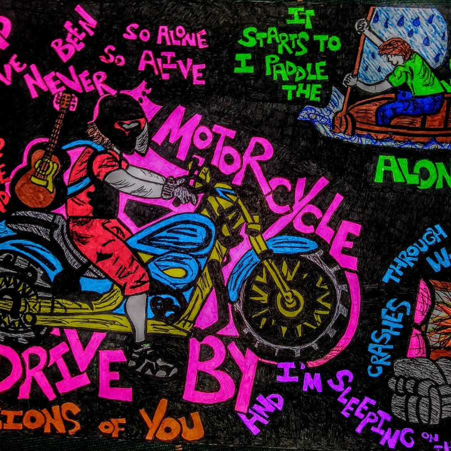 Motor Cycle Drive By