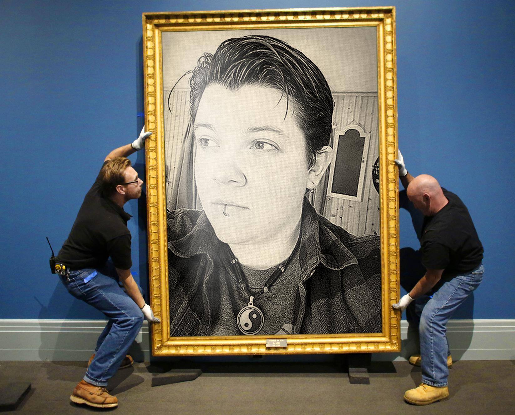 APTOPIX Goya Exhibit