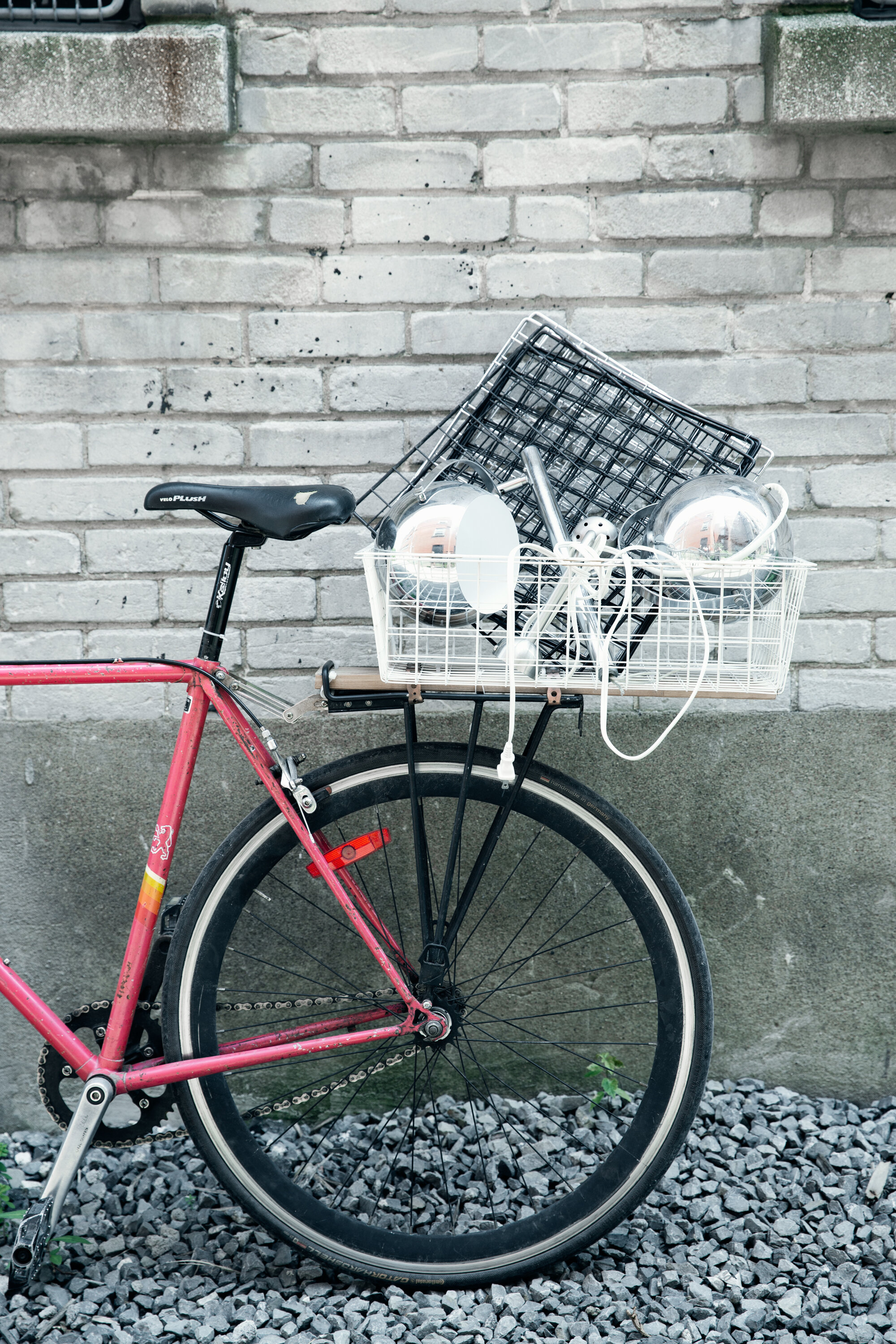 - we prefer to ride our bikes during our treasure hunts