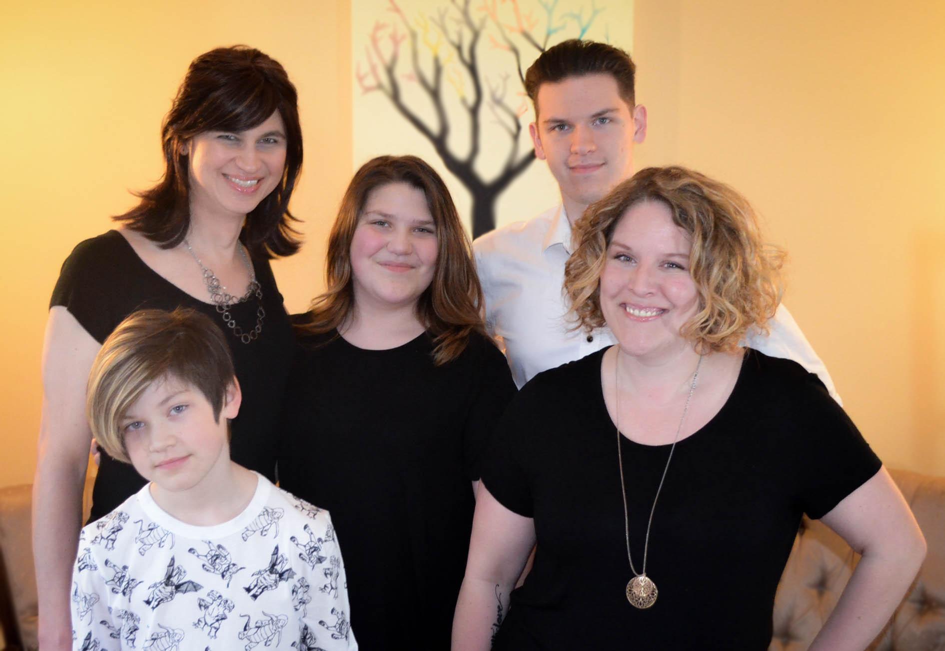 The Knox family, 2017
