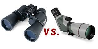 5. Spotting scope and binoculars with nerdy shoulder strap
