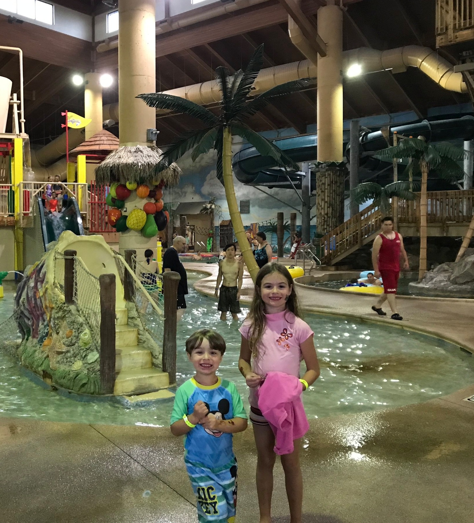 """Such a nice thing you do for families! The kids loved the water park! Everyone was nice and it was a very pleasant place to stay! Dinner was delicious and much appreciated as well. Thank you again for the entire experience - much appreciated!"" -"