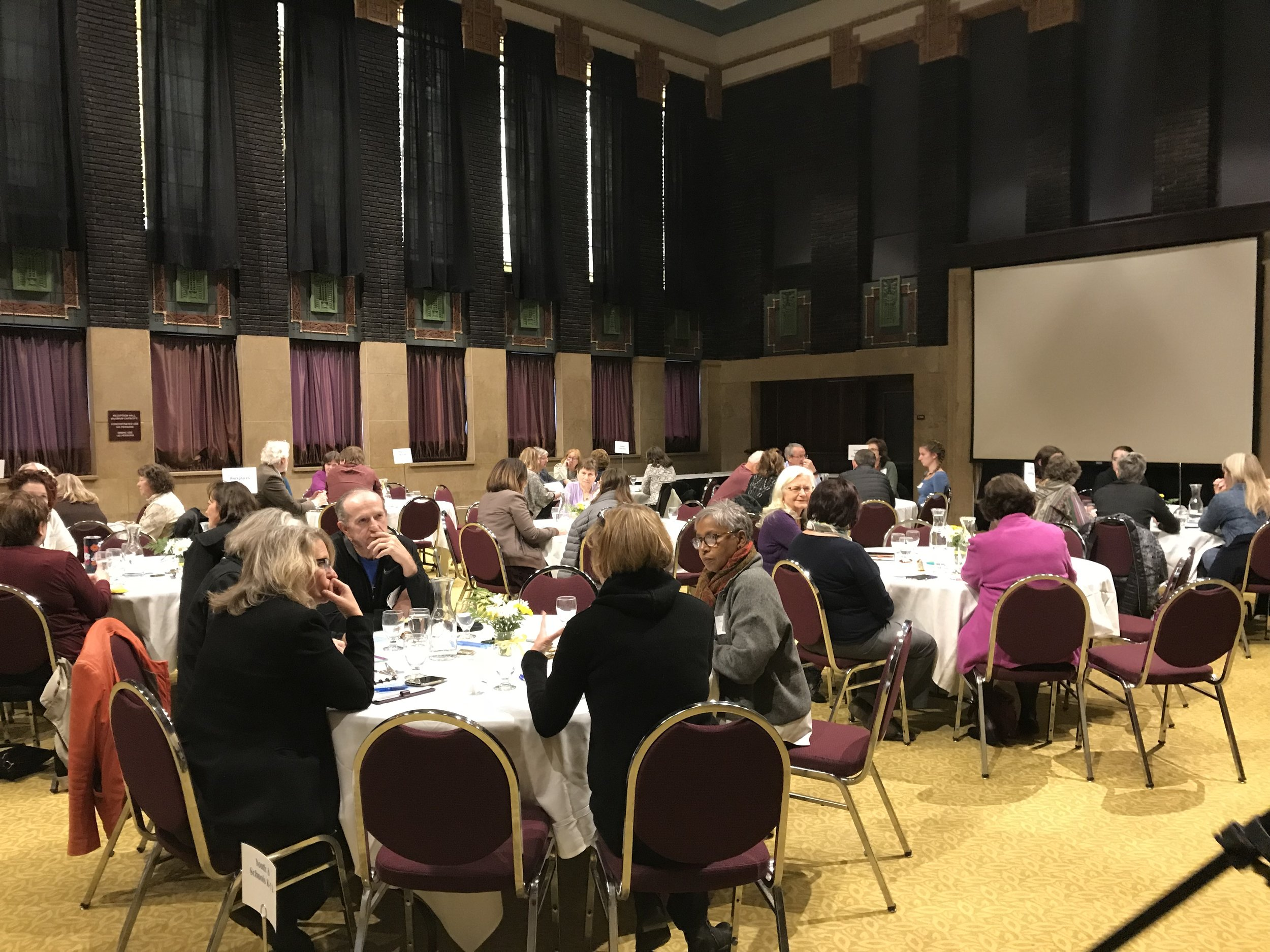 Voices for Compassion Community Forum - Verizon Reception Hall - Mankato, MN. Nov 2, 2018.