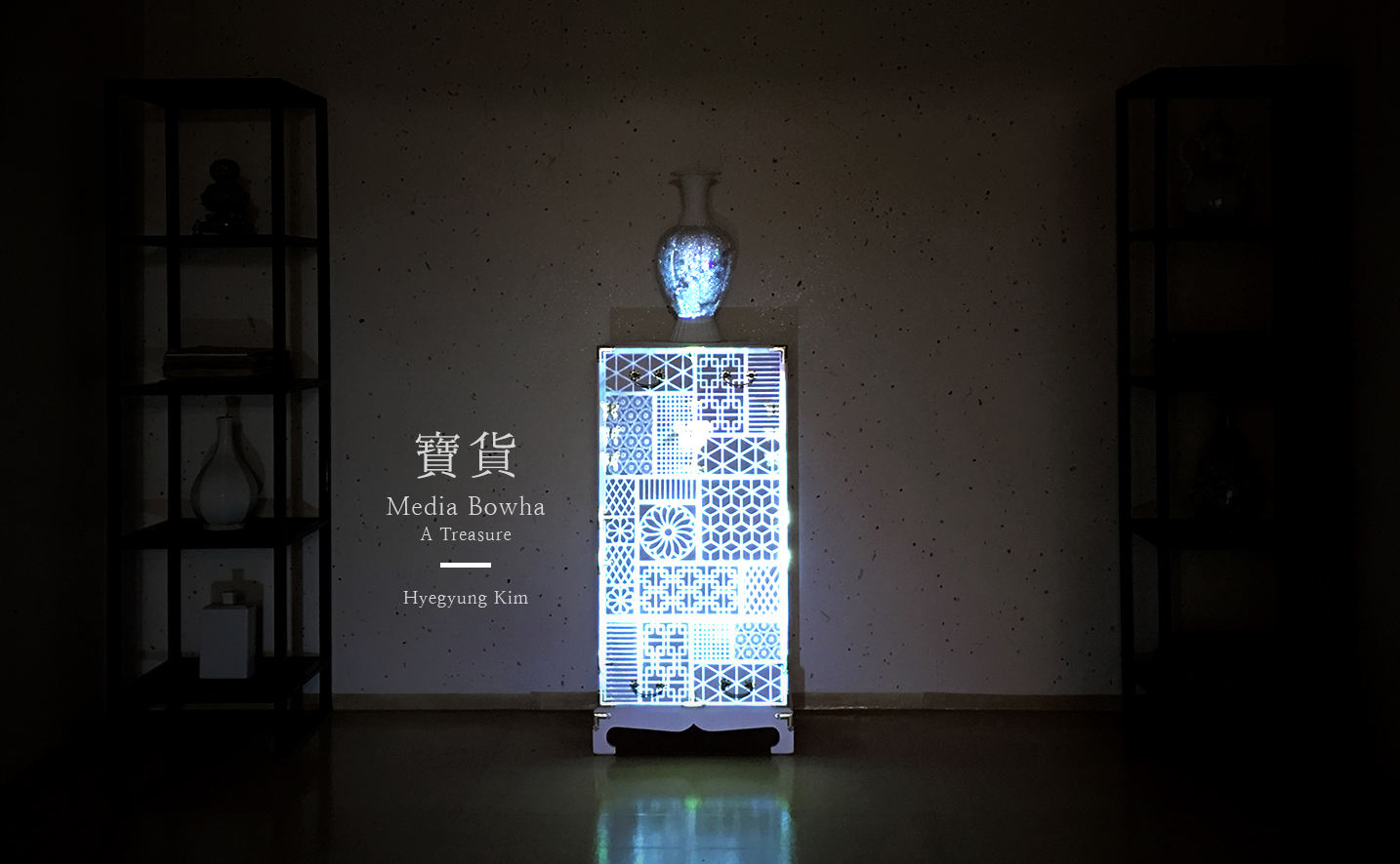 Media Bowha (寶貨 - A Treasure) Installation, 2016