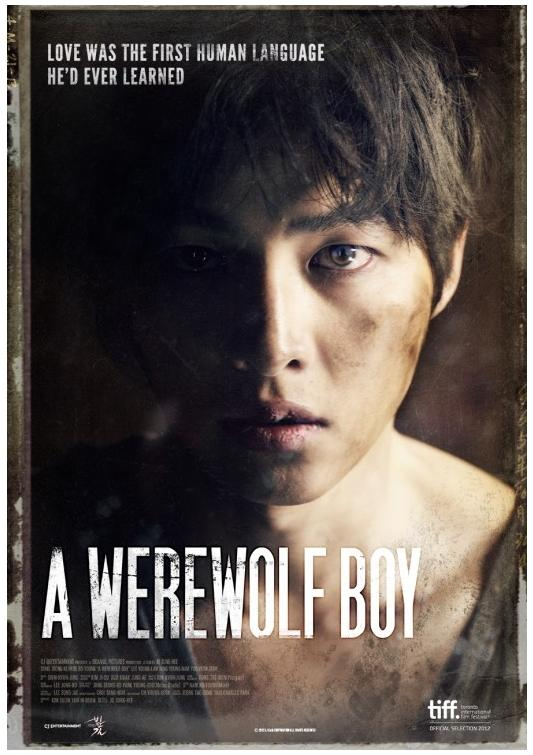 A Werewolf Boy - english poster.jpg