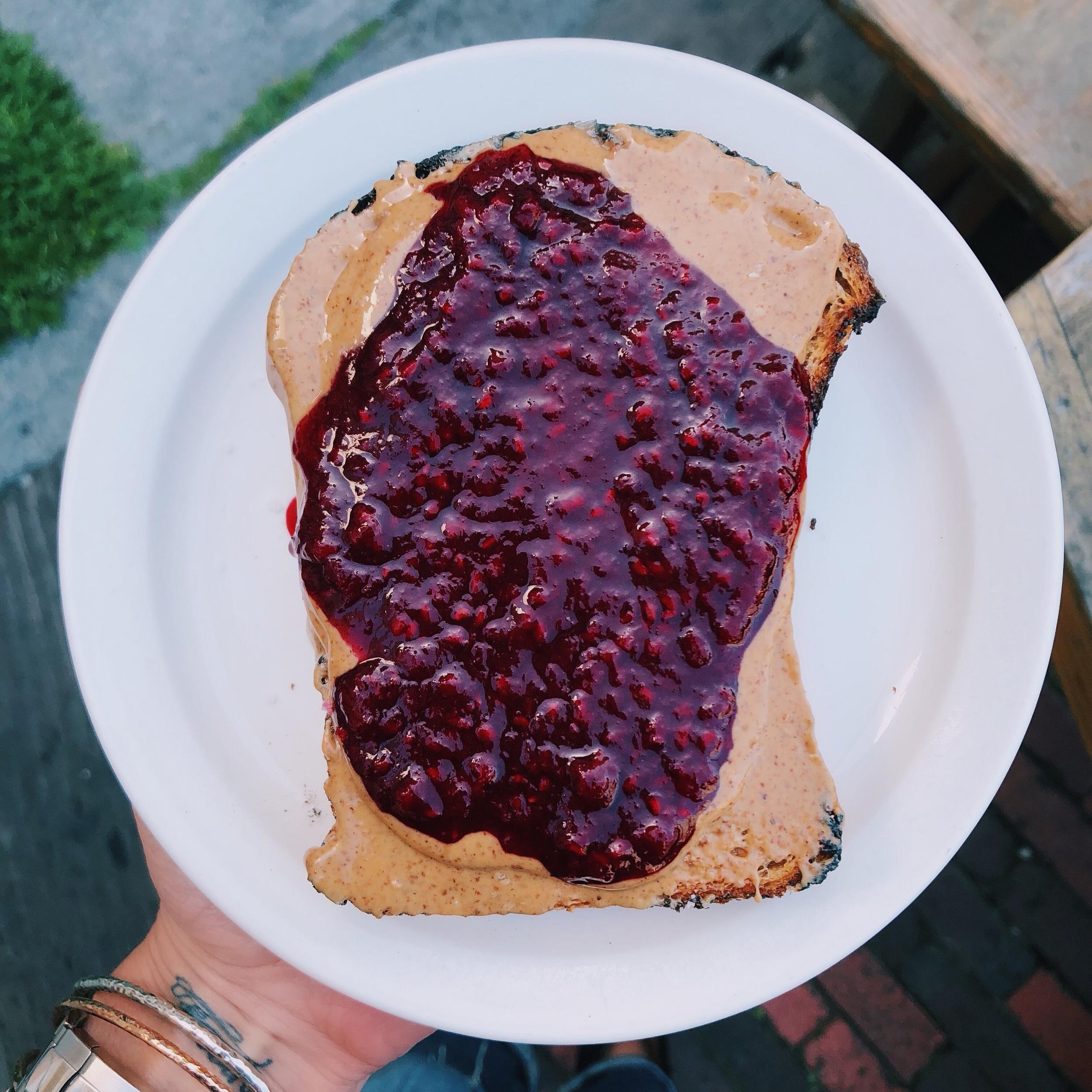 the mill SF toast by kalejunkie