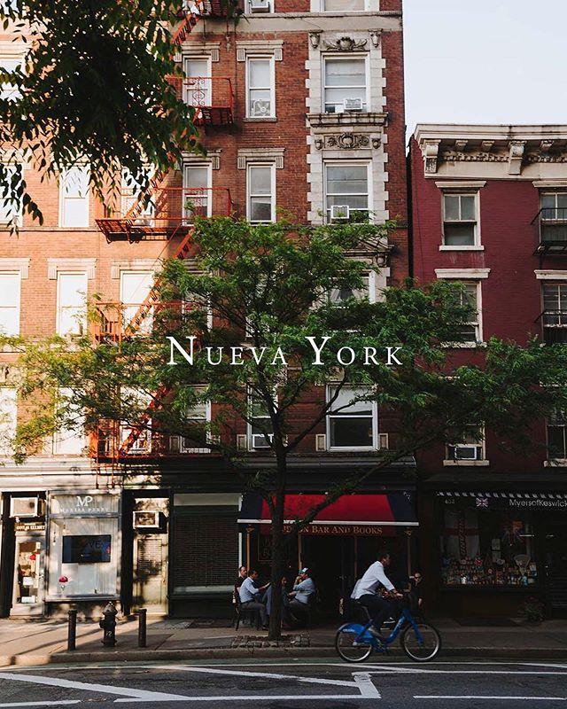 Recuerdos de Nueva York.